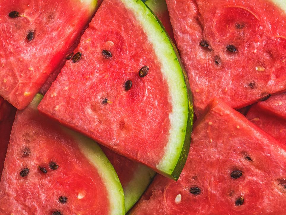 Wassermelonensaft wird verwendet, um Gewicht zu verlieren